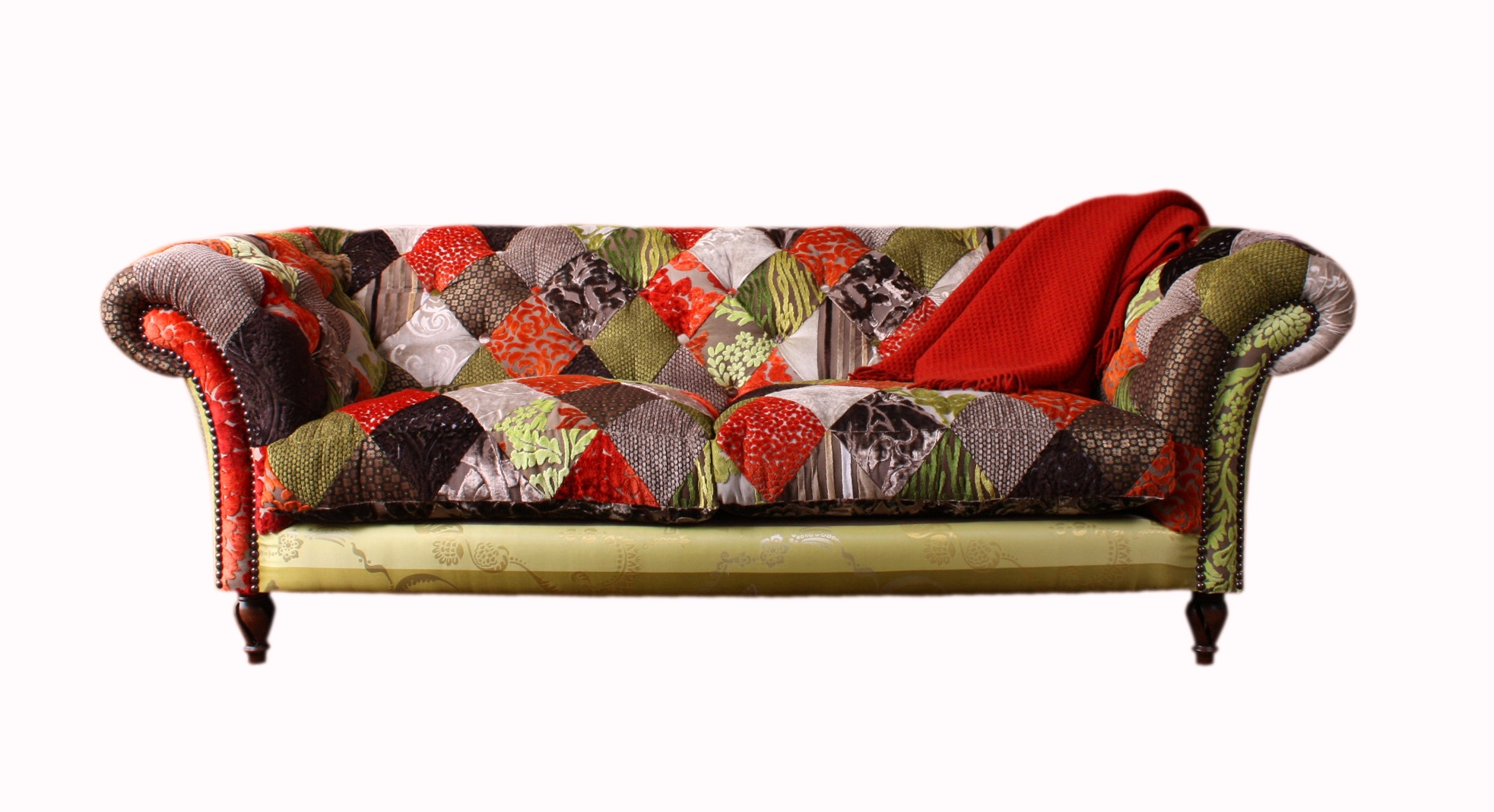 Sof s em patchwork lar doce lar da li for Sofa patchwork
