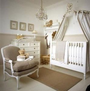 decoração neutra quarto de bebe