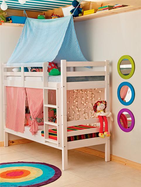 cuarto pequeños para niño y niña