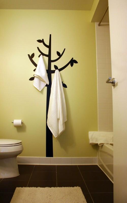 porta toalhas de banheiro
