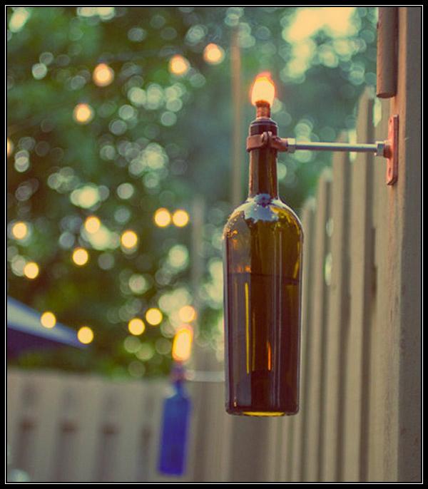decoração-com-garrafas-de-vinho
