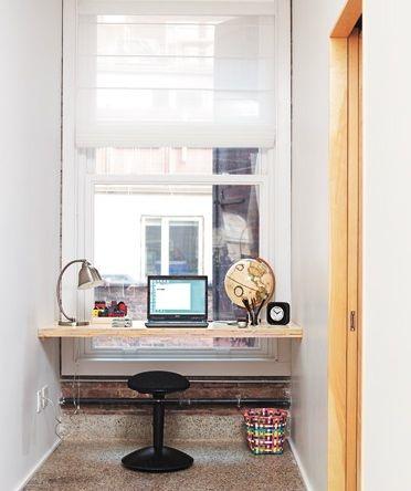 home office no final do corredor