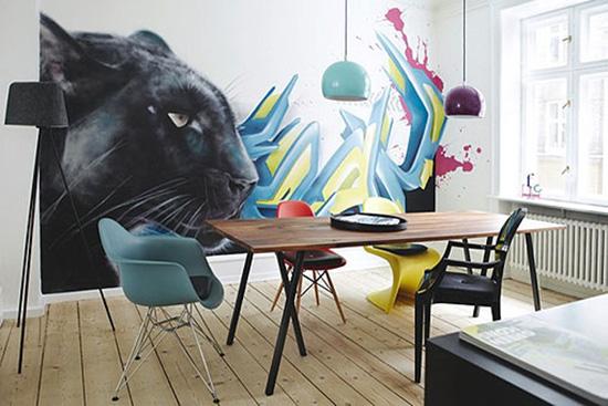 paredes do quarto ou escritório grafitadas1