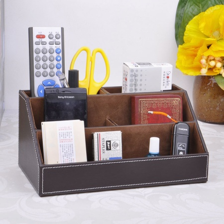 5-slot-grid-wood-leather-desk-storage-box-pen-pencil-holder-stationery-cosmetics-organizer-holder-container