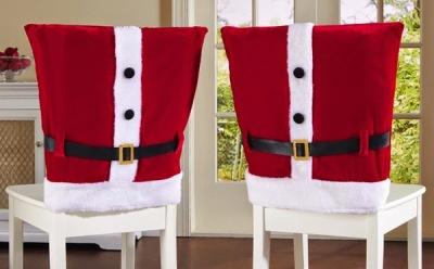 Capa Natalina para cadeira 11