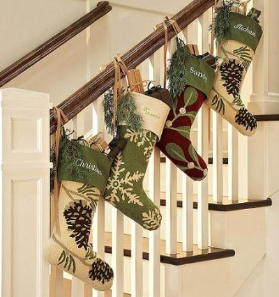 escadas decoradas para o natal (22)
