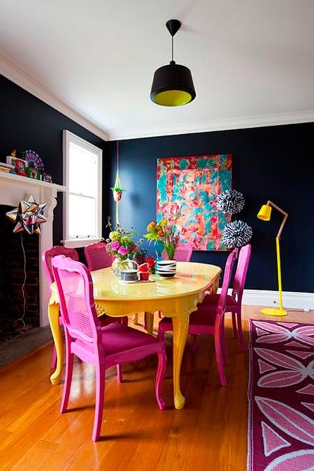 cadeira-colorida-decoração-sala-jantar-doce-elegancia-2